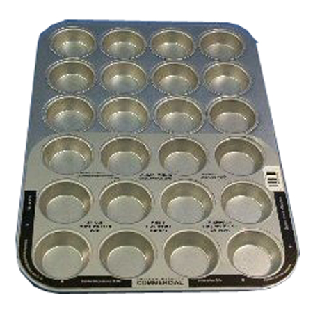 Chicago Metallic Commercial 24-Cup Mini Muffin Pan