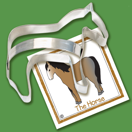 Ann Clark Horse Cookie Cutter