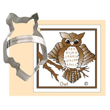 Ann Clark Owl Cookie Cutter