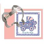 Ann Clark Baby Carriage Cookie Cutter