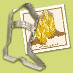 Ann Clark Cowboy Boot Cookie Cutter