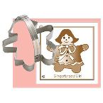Ann Clark Gingerbread Girl Cookie Cutter