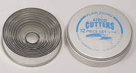 Ateco 12-Pc. Round Cutter Set