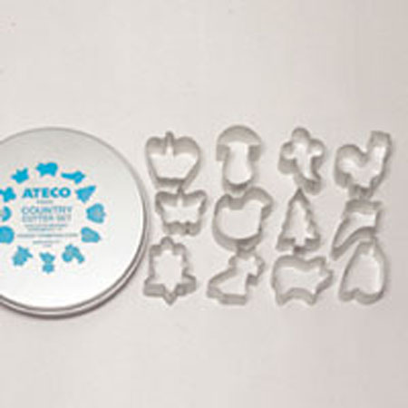 Ateco 12-Pc. Country Cutter Set
