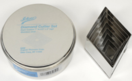 Ateco 8-Pc. Diamond Cutter Set