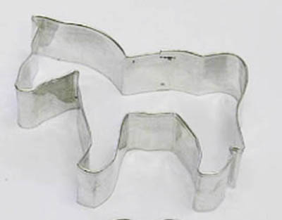 Horse TBK Cookie Cutter