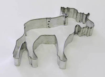 TBK Moose  Cookie Cutter