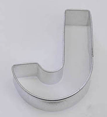 Letter J TBK Cookie Cutter