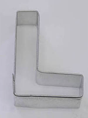 Letter L TBK Cookie Cutter