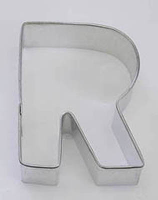 TBK Letter R  Cookie Cutter
