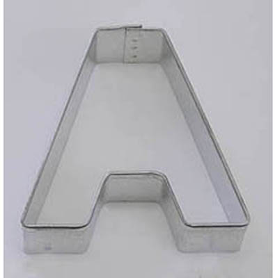 Letter A TBK Cookie Cutter