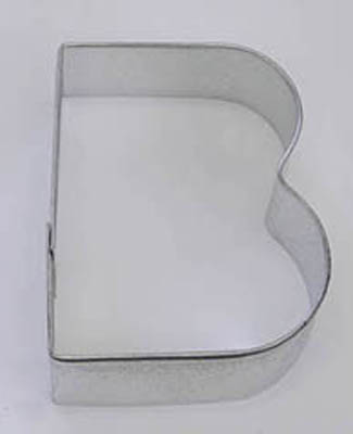 TBK Letter B  Cookie Cutter