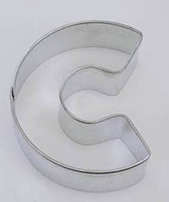 Letter C TBK Cookie Cutter