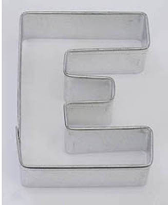 TBK Letter E  Cookie Cutter