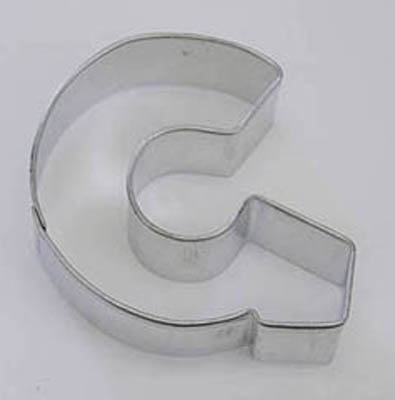 TBK Letter G  Cookie Cutter