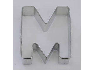 TBK Letter M  Cookie Cutter