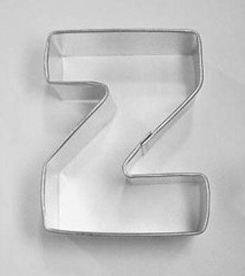 Letter Z TBK Cookie Cutter
