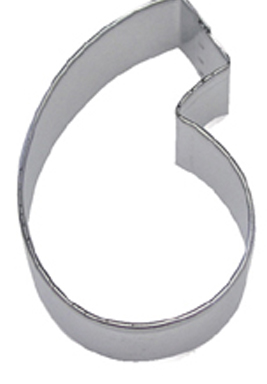 Number 6 TBK Cookie Cutter