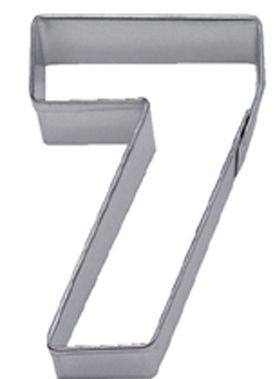 Number 7 TBK Cookie Cutter