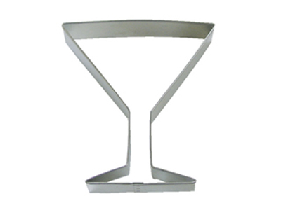 TBK Martini Glass  Cookie Cutter