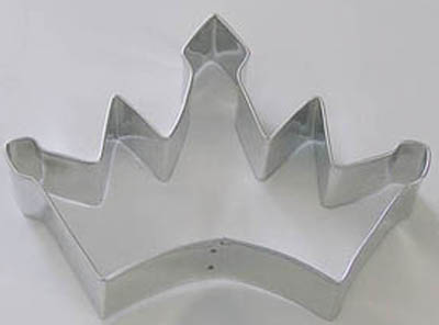 TBK Crown  Cookie Cutter