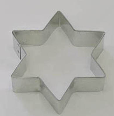 Star of David TBK Cookie Cutter