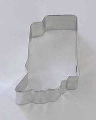 State of Indiana TBK Cookie Cutter