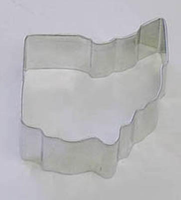 TBK State of Ohio  Cookie Cutter