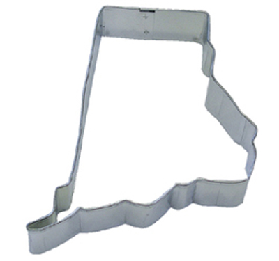 TBK State of Rhode Island  Cookie Cutter