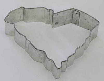 TBK State of South Carolina  Cookie Cutter