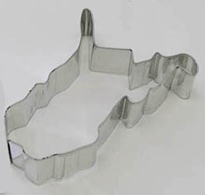 State of West Virginia TBK Cookie Cutter