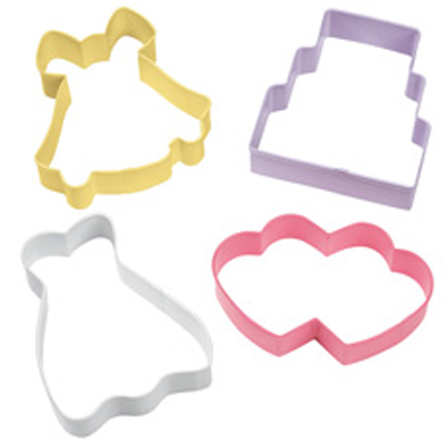 Wilton Wedding Cookie Cutter Set, 2308-1071