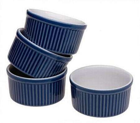 Emile Henry 4 Piece Set of Ramekin Dishes