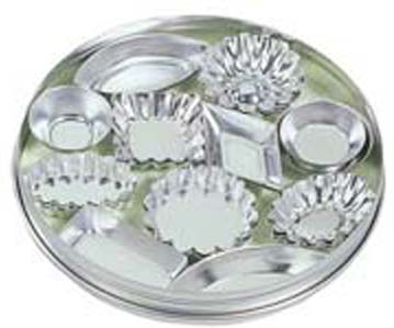 36-Pc. Mini Tartlette Tins