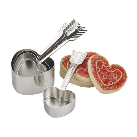 Endurance 4-Pc. Heart Measuring Cup Set