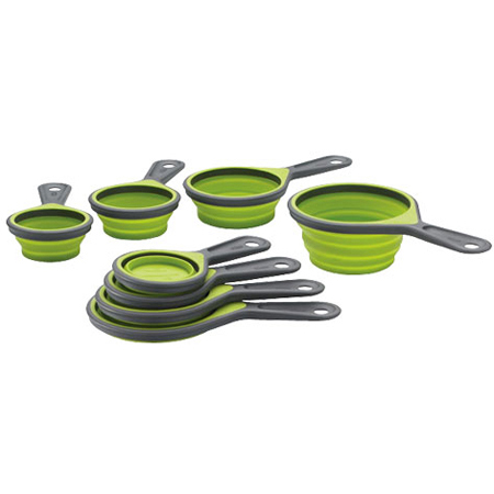 SleekStor Collapsible 4-Pc. Measuring Cup Set