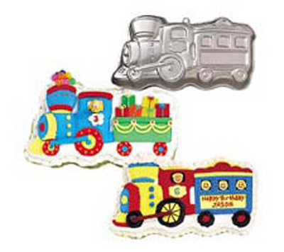 Wilton Little Train Pan