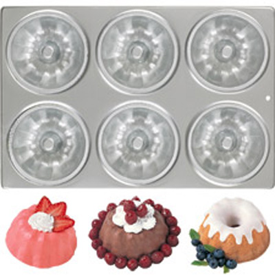 Mini Fluted Mold Cake Pan