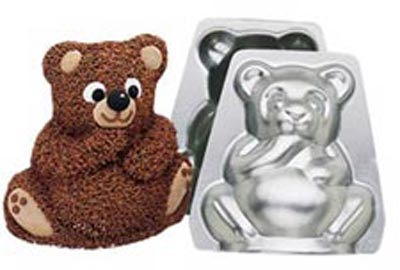 Wilton Mini Stand-Up Bear Pan Set