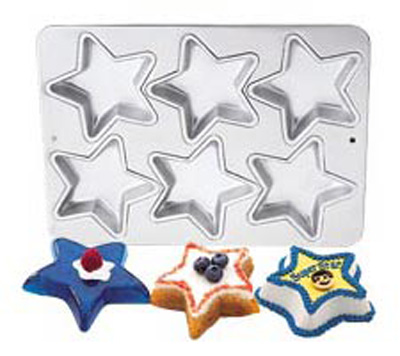 Mini Star Cake Pan
