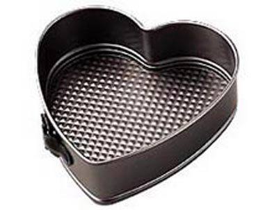 Wilton 9 inch Heart Nonstick Springform Pan