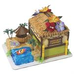 Decopac Coconut Beach Cabana Signature Cake Kit