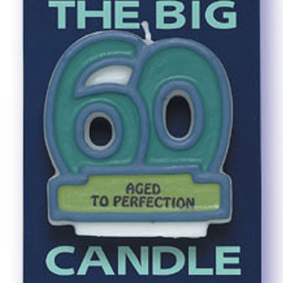 Bakery Crafts 60 Candle