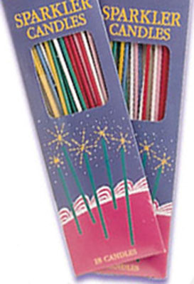 Slim Sparkler Candles