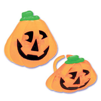 Bakery Crafts Jack O'Lantern Jewel Rings