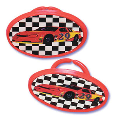 Bakery Crafts Race Car Rings