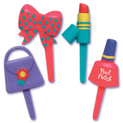 Girly Assortment Cupcake Picks