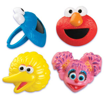 Bakery Crafts Sesame Street Rings