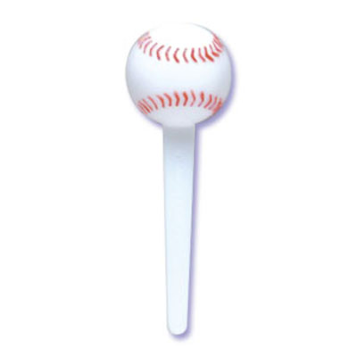 Bakery Crafts Baseball Cupcake Picks