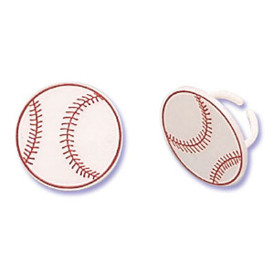 Bakery Crafts Baseball Rings